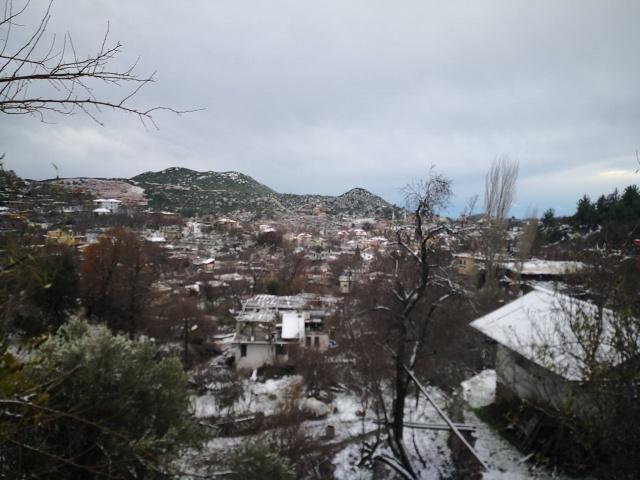 Güzelbağ karlar altında
