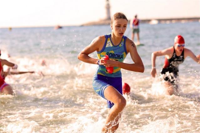 Alanya'dan triatlonun yıldızları geçti