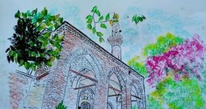 Selçuklu mimarisi çizimlerle yeniden hayat buldu