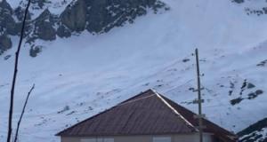 Alanya Gökbel'den kar manzaraları