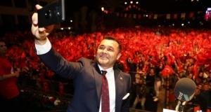 Alanya'da muhteşem Cumhuriyet kutlaması