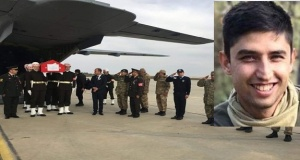 Alanyalı şehidimiz Fatih Uysal'ın cenazesinden kareler