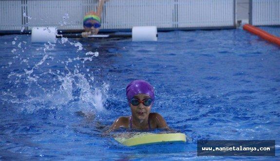 Alanya'da yüzme bilmeyen kalmayacak