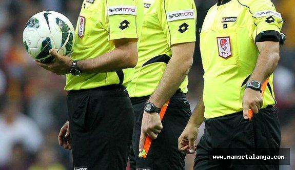 Alanyaspor-Galatasaray maçının hakemi açıklandı