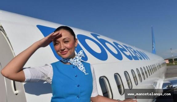 Pobeda Havayolu, Petersburg-Alanya seferlerine başlıyor