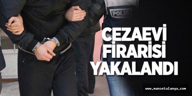 Alanya'da cezaevi firarisi yakalandı