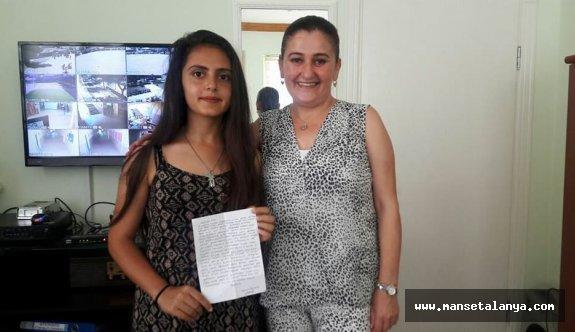 Alanya da Fitre zarfından mektup çıktı!