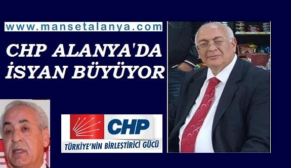 CHP Alanya teşkilatına partililer tepki gösteriyor...!