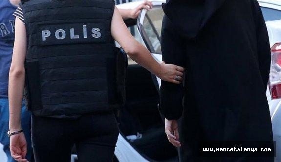 Gazipaşa da kadın psikolog tutuklandı