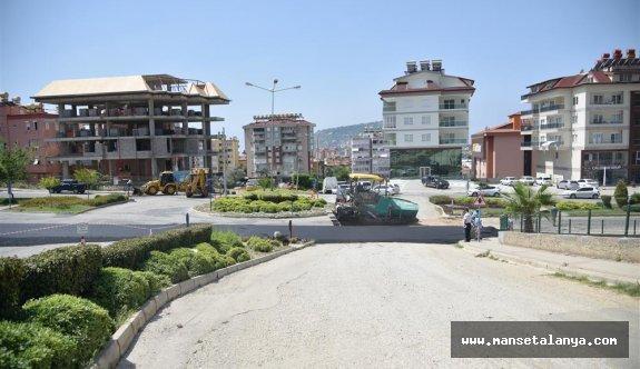Küçükhasbahçe mahallesine sıcak asfalt