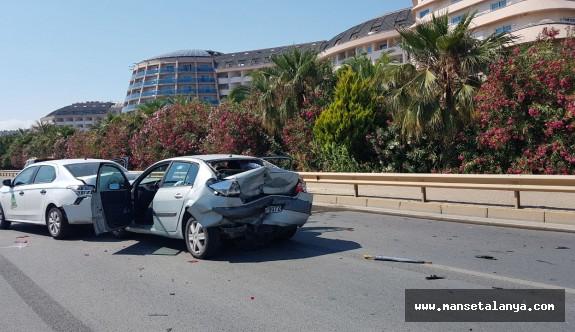 Long Beach hotel önünde kaza...!