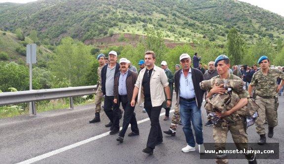 Türktaş, Adalet yürüşünde