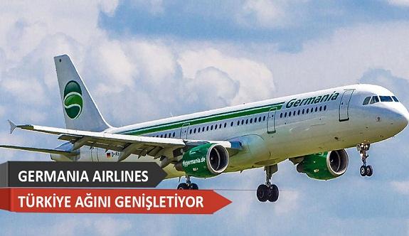 Alman hava yolu şirketi 2018'de Türkiye'de 7 noktaya uçuş başlatıyor