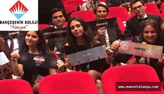 Bahçeşehir koleji Alanya'ya 6 ödül