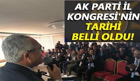 Ak Parti Antalya il kongresinin tarihi Alanya'da açıklandı