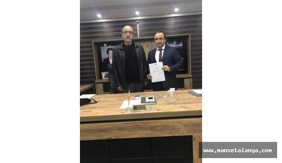 Alanya İyi Parti İlçe Başkanı atandı