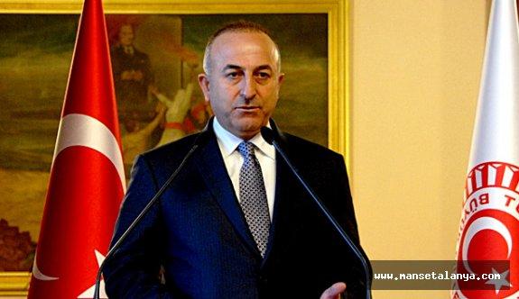 Bakan Çavuşoğlu: 'Rejim PYD'yi korumak için giriyorsa...'