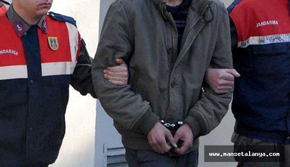 Alanya Avsallar'da uyuşturucu operasyonu