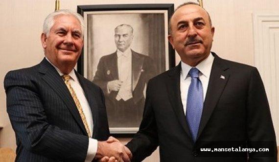 Dışişleri Bakanı Çavuşoğlu ile Tillerson görüşmesi
