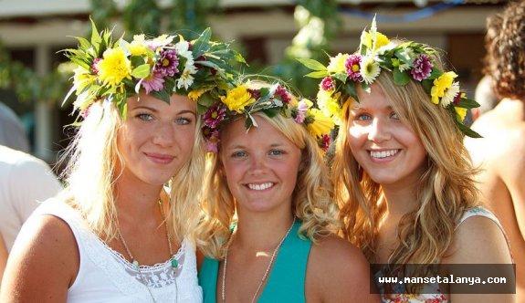 İsveçli'nin tercihi Alanya