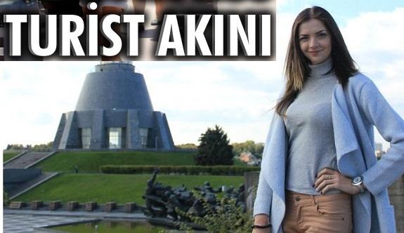 O ülkeden Antalya'ya turist akını