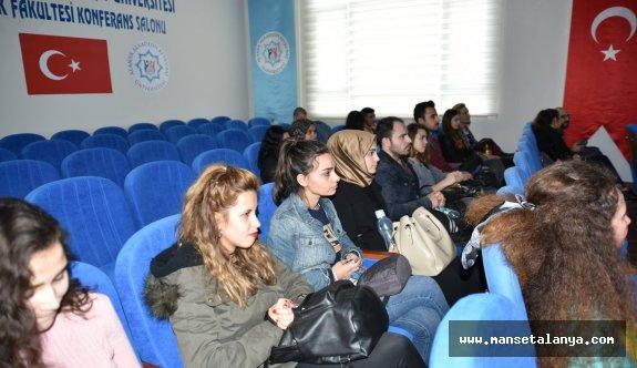 Rafet Kayış mühendislik fakültesinde bahar semineri