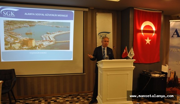 SGK Antalya bölgesi Alanya'da buluştu