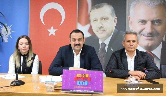 AKP Antalya il başkanı: Yeniden aday değilim...!