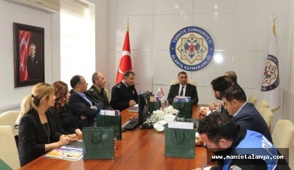 Alanya'da Güvenlik Toplantısı