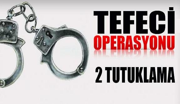 Alanya'daki tefeci operasyonuna tutuklama