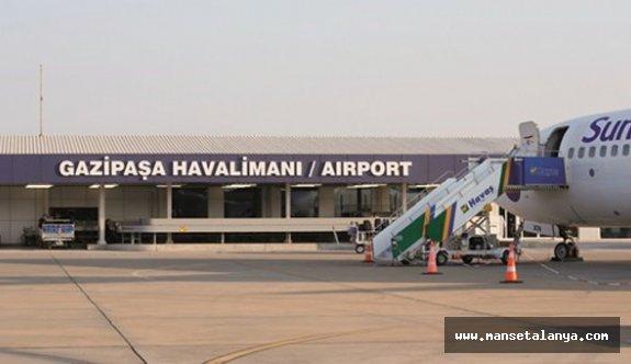 Alanya-Gazipaşa havalimanına 15 ülkeden turist getiren acentelere...!