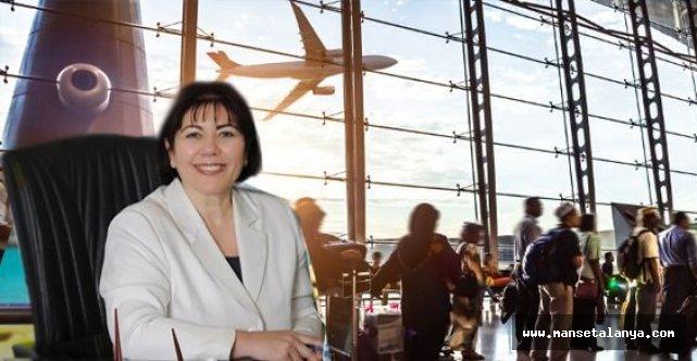 Alanya-Gazipaşa havalimanında artış