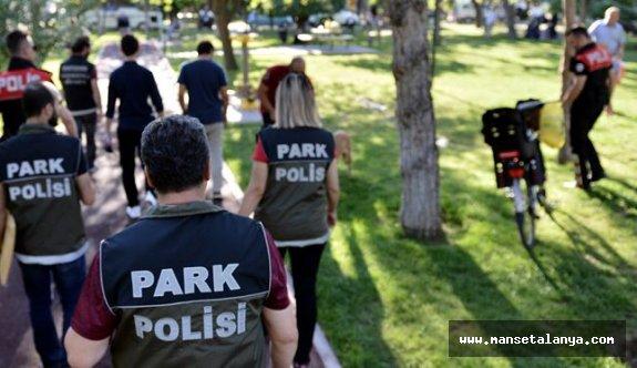 "Alanya polisinden ""Mobil park polisi"""