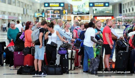 Alman turistler gelmeye başladı