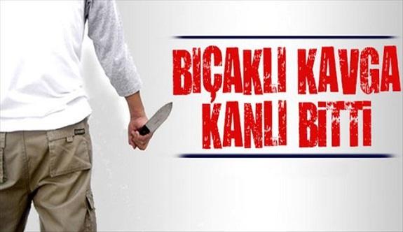 Antalya Aksu'da garsonlar arasında bıçaklı kavga