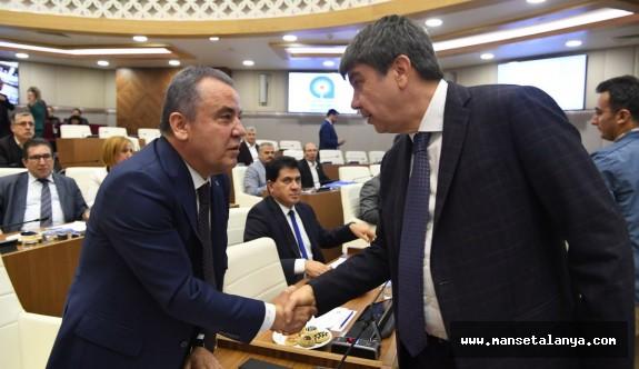 Antalya Büyükşehir Belediye başkan adaylığı için konuştu