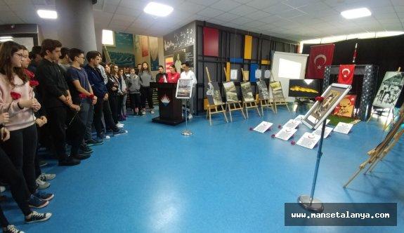 Bahçeşehir Koleji Alanya'da Çanakkale şehitleri anıldı