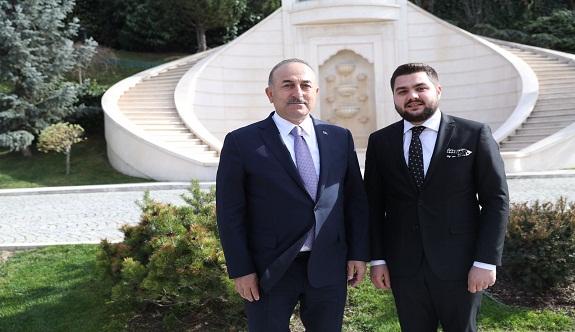 Bakan Çavuşoğlu, Alanyalı avukatı kabul etti
