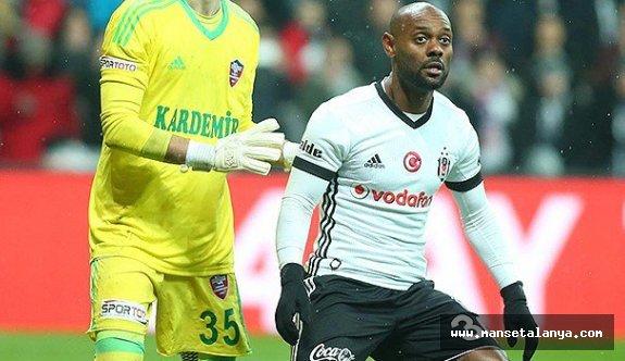 "Vagner Love Beşiktaş'ta ""Stop"" dedi"