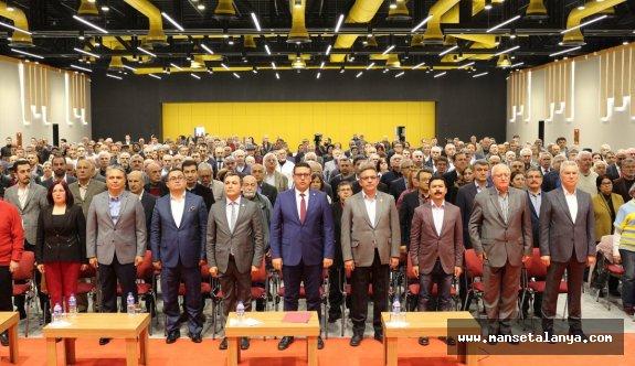 CHP'liler Antalya İl Danışma Kurulu'nda konuştu
