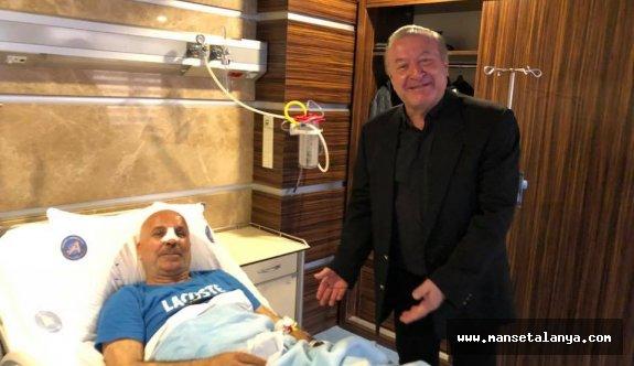İlk ziyaret Kamil Köseoğlu'ndan