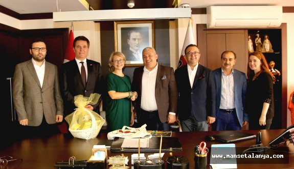 İsveç'in İstanbul başkonsolosu Alanya'da