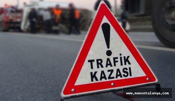 Konaklı'da kaza