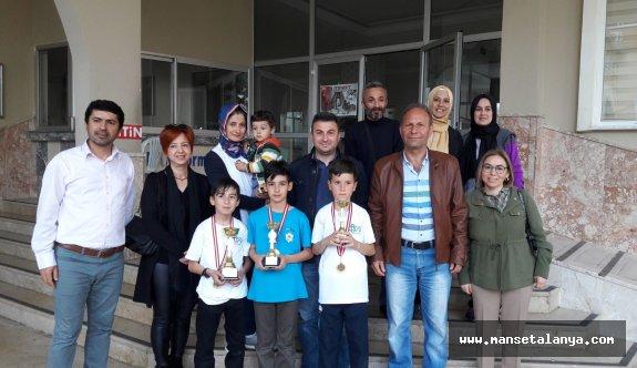 Satranç Turnuvasında Afrin şehitleri anıldı