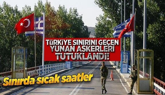 Sen misin Türkiye sınırını geçen...!
