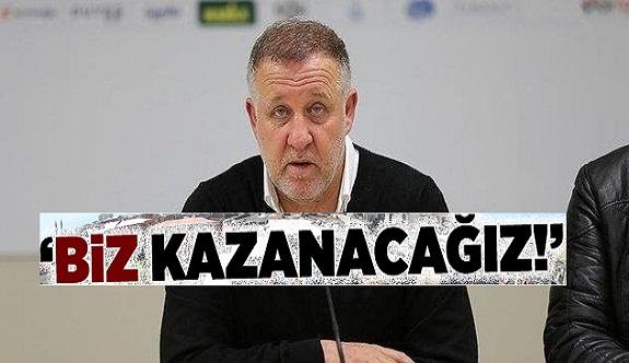 Alanyaspor teknik direktörü: KAZANACAĞIZ