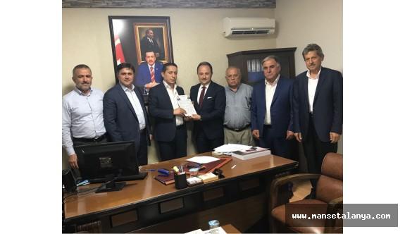 Antalya Ak  partide ilk müracaat Uludağ'dan geldi