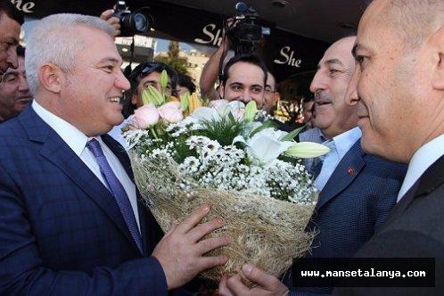 Bakan Çavuşoğlu, yarın Alanya'da