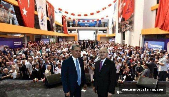 CHP'li Kılıçdaroğlu: Antalya ve ilçe adayları çapraz anketten çıkacak