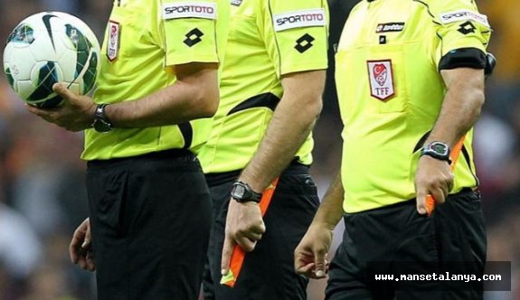 İşte Malatya-Alanyaspor maçının hakemi